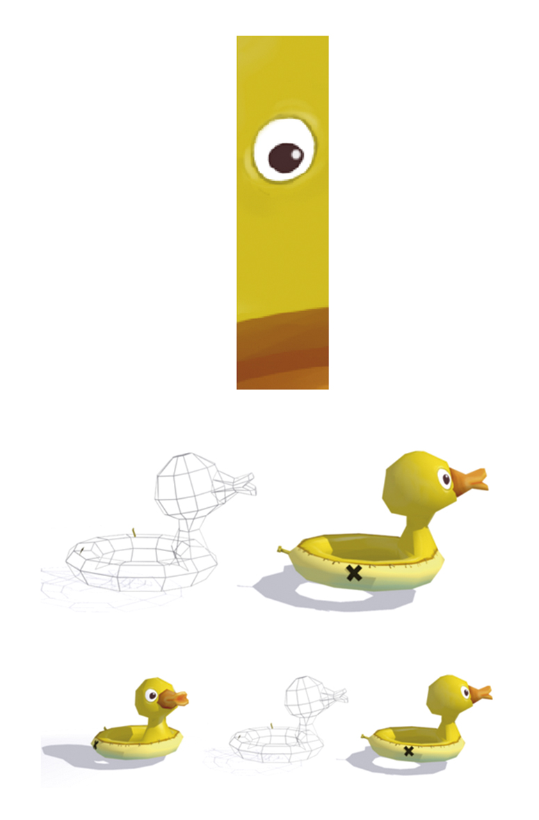 Low poly Duck (patito pa las risas)