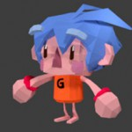 Low poly character by Miki Company